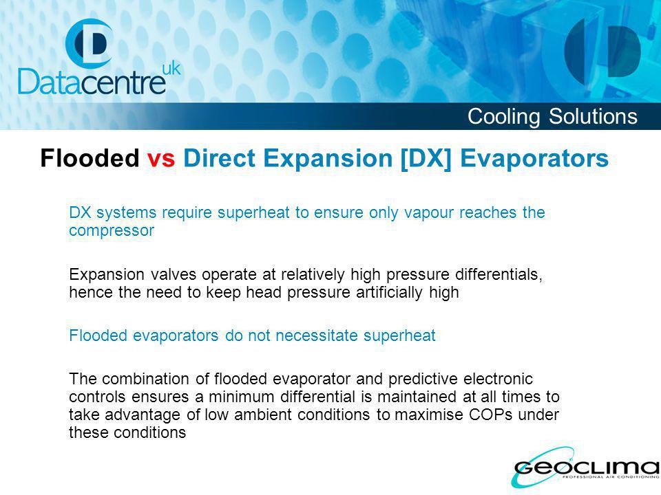 Flooded vs Direct Expansion [DX] Evaporators
